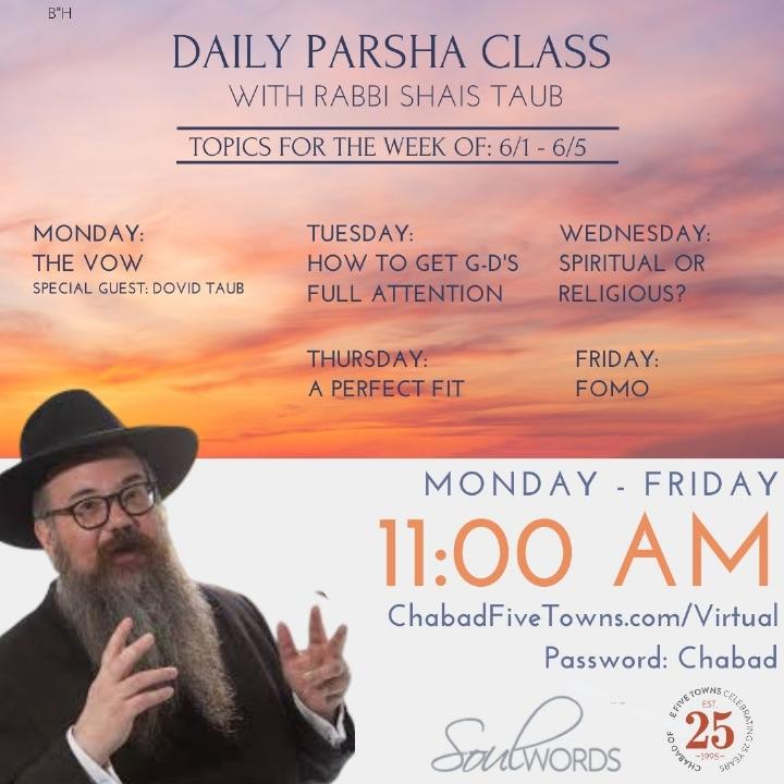 Parsha Class