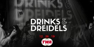 Chabad of the Beaches drinks and dreidel