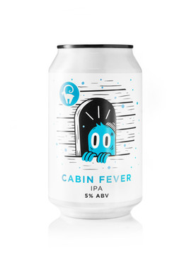 Cabin Fever IPA 330ml Can