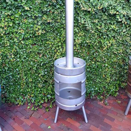 Beer Barrel Heater