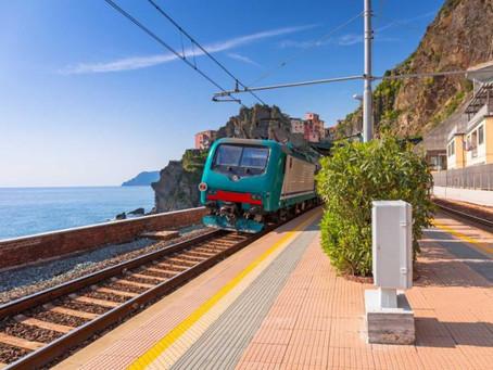 Med tåg till Rivieran