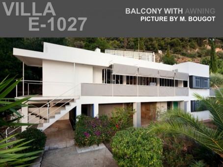 Villa E-1027 i Roquebrune-Cap-Martin