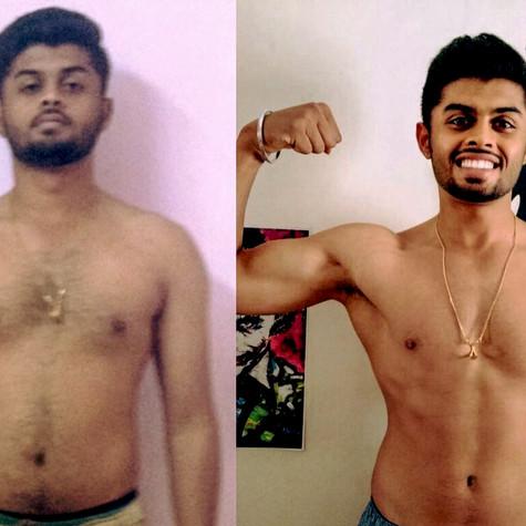 Risheek, Mangalore, 16 Weeks