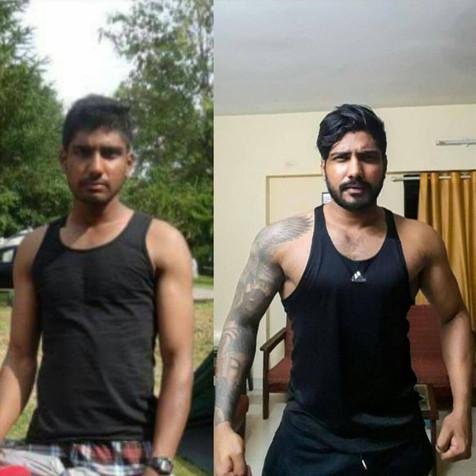 Keerthan, Mangalore, 5 Years