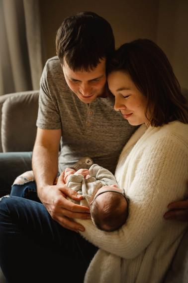 lindsey, nick, & baby