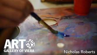 Behind the artist with Nicholas Roberts
