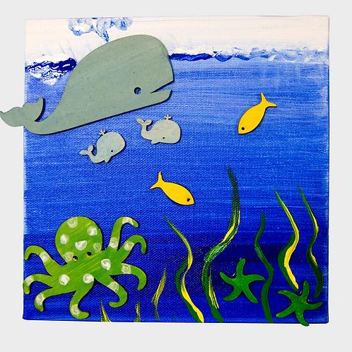 Art Kit Bento - Under the Sea Kit