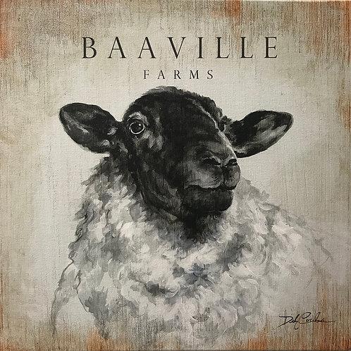 """Baaville"" by Debi Coules"