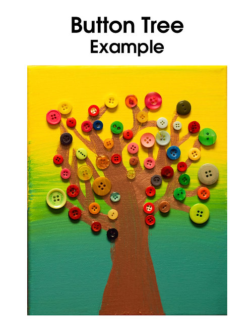 Art Kit Bento - Button Tree