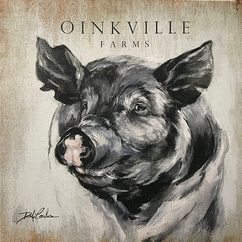 """Oinkville"" by Debi Coules"