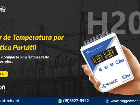 H201 - Monitor de Temperatura por Fibra Ótica Portátil