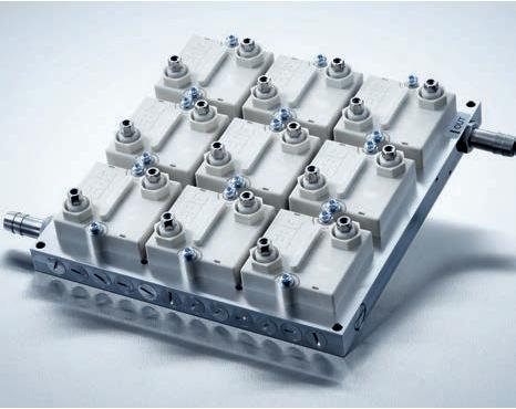 Resistor de dissipador de calor para aplicação de filtro industrial