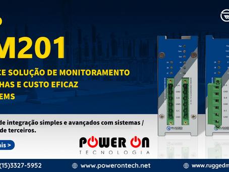 NOVO BM201 - Monitor de Buchas de Transformador