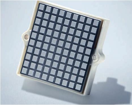 resistor com PCM pré-aplicado (material de mudança de fase)