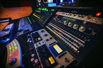 Sound Cellar Recording Studio Console