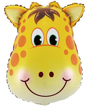 Жираф голова