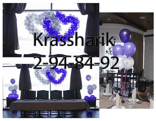 Фонтан на стол из 5 шаров( матовые)