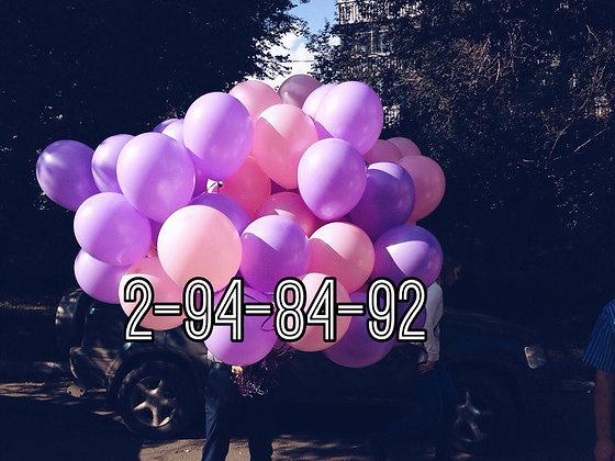 70 шаров для девочки
