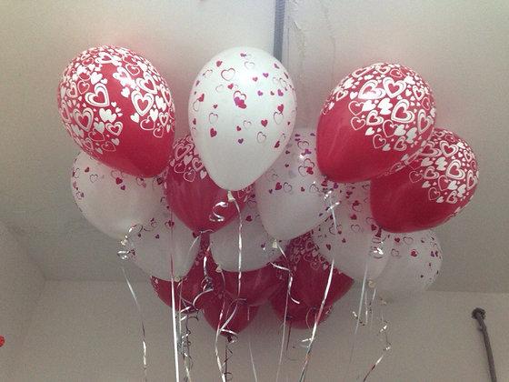 15 шаров  с любовью