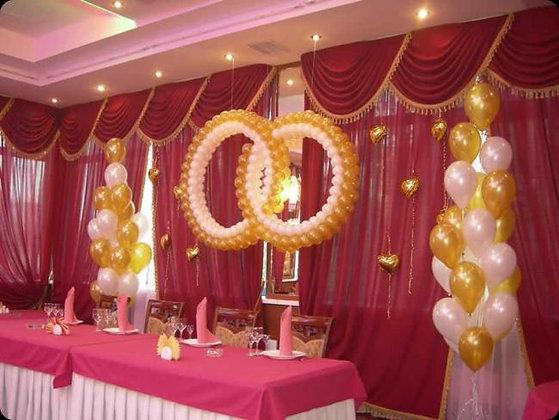 2 кольца( 1,5м)+фонтаны
