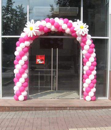 Розово-белая