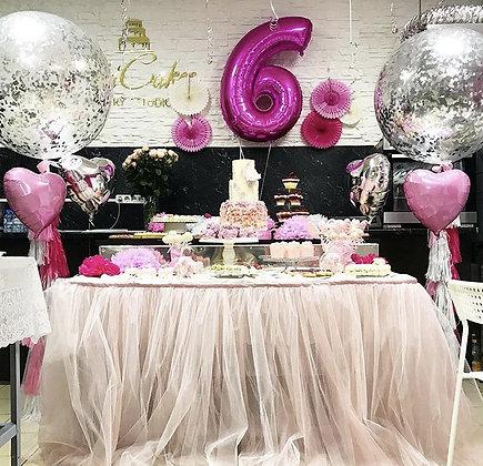 Набор- Розовый  4150