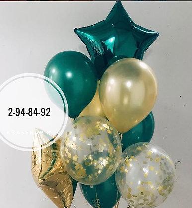 Набор зеленая звезда 960