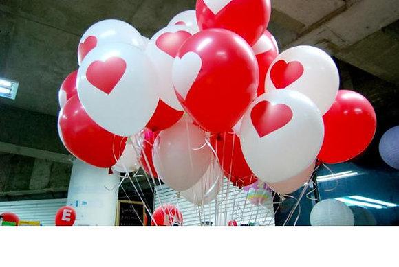 шары с сердцами( с обработкой)