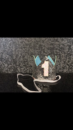 Коронка серебро 4