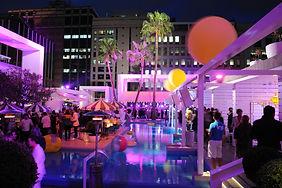 The Ivy Pool Club, Sydney. Lighting Design by DJCoalition