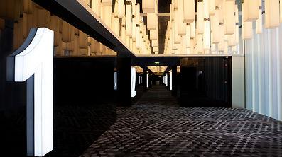 Reel Cinema, Dubai. Lighting Design by DJCoalition