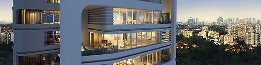 Ardmore 7 residential tower in Singapore. Lighting Design by DJCoalition