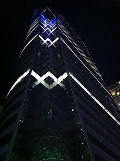 Sathorn Square, Bangkok. Lighting Design by DJCoalition
