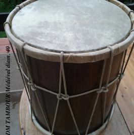 IDM tambour médiéval diam 40