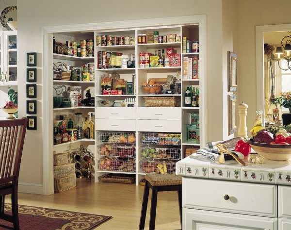Kitchen-pantry-with-shelves-and-drawers