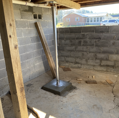 Floor Support For Foundation