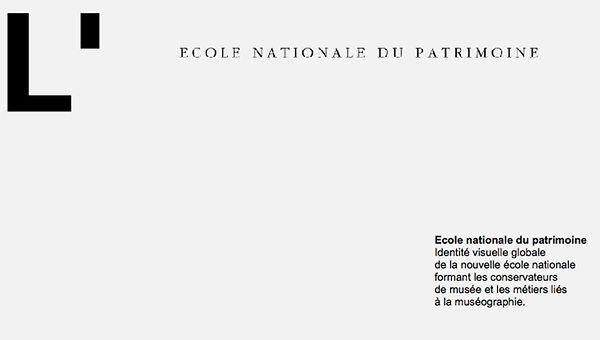 CE logo Ecole Nationale patrimoine BD W.