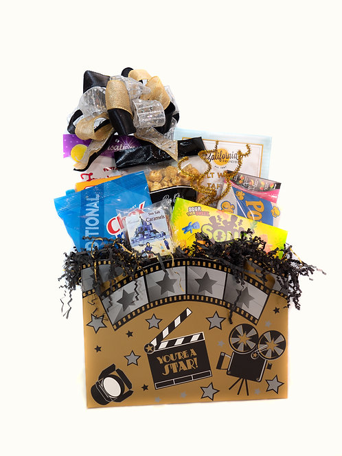 Movie Time (Large) Gift Basket