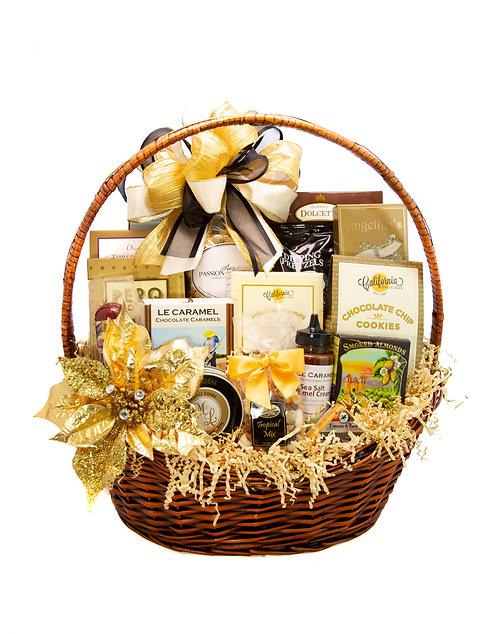 Elegant Wishes Gift Basket