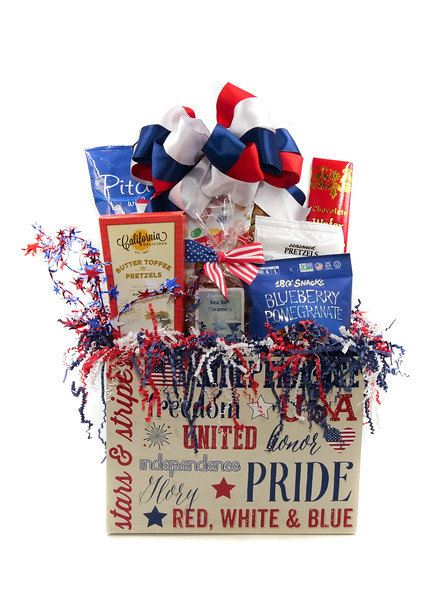 Celebrate America Gift Basket