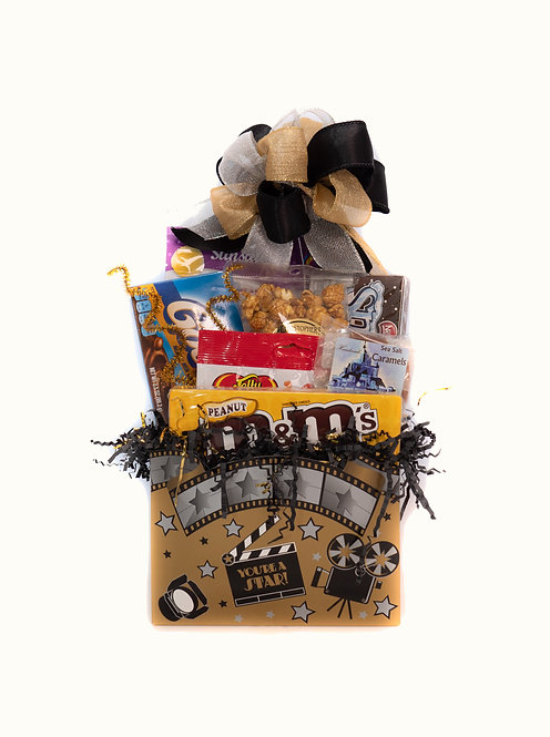 Movie Time (Small) Gift Basket