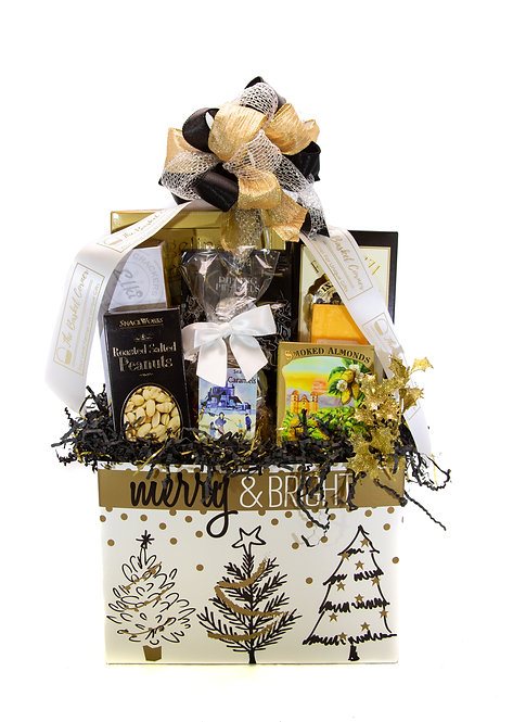 Merry & Bright Gift Basket