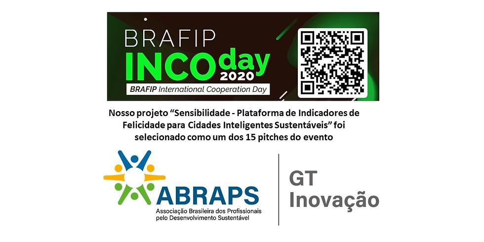 """Pitch """"Sensibilidade -  Plataforma de Indicadores de Felicidade para Cidades Inteligentes Sustentáveis"""" no INCODAY"""
