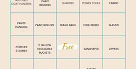 Let's Play Donation Bingo!