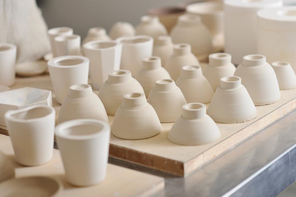 Itens de cerâmica