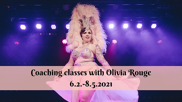 Coaching classes with Olivia Rouge 2021.