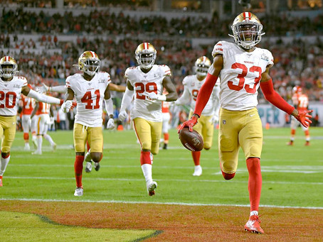 Tarvarius Moore isn't the finished product, but he could be 49ers' long-term answer at safety