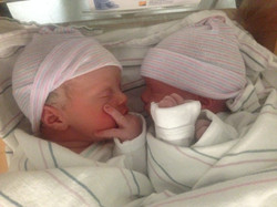 my first set of doula twins