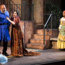 Juliet, Capulet, Lady Capulet and the Nurse