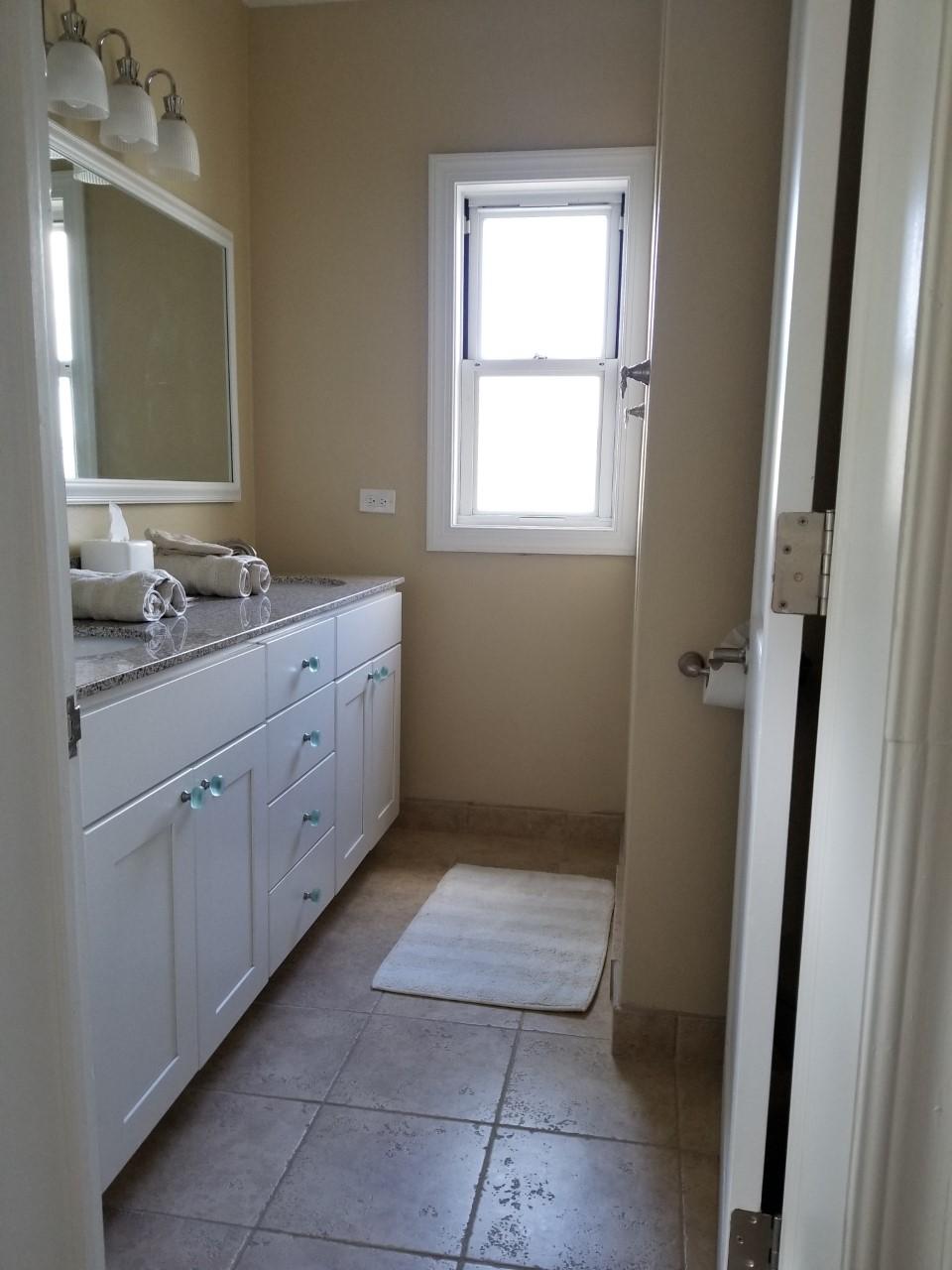 New bath off bedroom #2